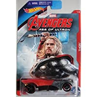 Hot Wheels Marvel Avengers Age Of Ultron Thor Buzz Bomb 7/8