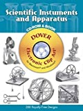 img - for Scientific Instruments and Apparatus CD-ROM and Book (Dover Electronic Clip Art) book / textbook / text book