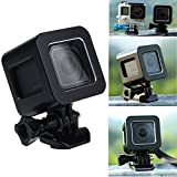 Go Pro Hero 4 Session Shell Housing, Yemo? CNC Aluminum Solid Strong Protector Case Cover For GoPro Hero 4 Session (Black) [並行輸入品]