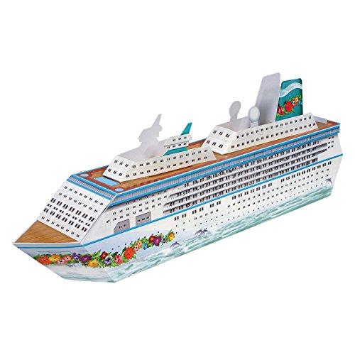 Beistle 54436 Cruise Ship Centerpiece, 13-1/4