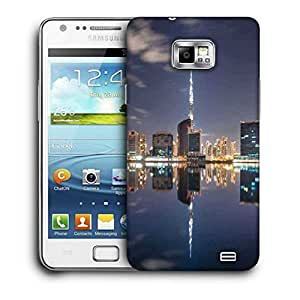 Snoogg Boats In The Lake Printed Protective Phone Back Case Cover For Samsung Galaxy S2 / S II
