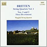 Britten : Quatuors à cordes, Vol. 1