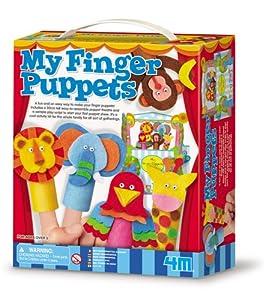 Toysmith 4M My Finger Puppets #4854