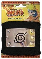 Naruto Leaf Village Metal Wristband