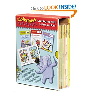 Amazon.com: AlphaTales Box Set: A Set of 26 Irresistible Animal Storybooks That Build Phonemic Awareness & Teach Each letter of the Alphabet (9780545067645): Scholastic: Books