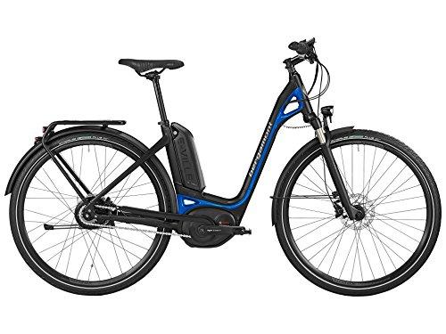 Bergamont-E-Ville-C-N330-500-Bosch-Pedelec-Elektro-Fahrrad-schwarzblau-2016-Gre-48cm-160-170cm