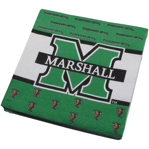 NCAA Marshall Thundering Herd 16-Count Luncheon Napkins - 1