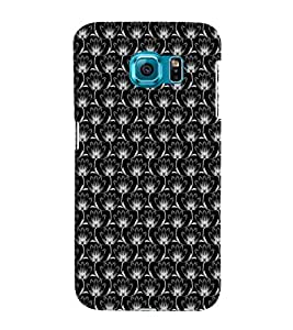 EPICCASE black lotus Mobile Back Case Cover For Samsung Galaxy S6 Edge Plus (Designer Case)