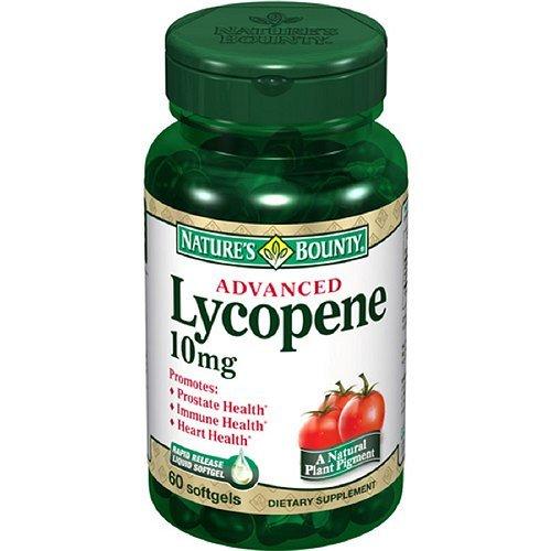 Bounty lycopène de la nature, 10 mg, gélules 60