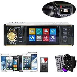 Qisc4.1 Inch In-Dash Car Bluetooth Stereo Aux Input USB/SD/FM/MP5/BT/WMA/MP3 Radio Player
