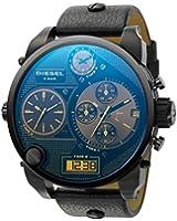 Diesel Men's S.B.A Watch DZ7127 With Black Leather Strap