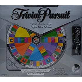 Trivial Pursuit Coffee Table