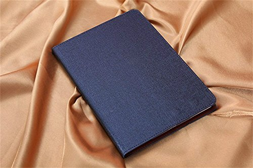 Borch Fashion Luxury For Apple iPad Case Stand Function For Tablet Cases Leather Case For Ipad Mini1/Mini2 (Blue)