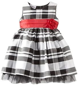Blueberi Boulevard Baby Girls Infant Flock Velvet PLD Dress from Blueberi Boulevard