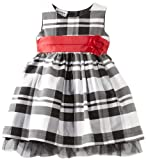 Blueberi Boulevard Baby Girls Infant Flock Velvet PLD Dress
