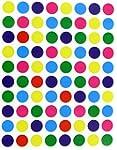 1/2 (0.5) Half Inch Round Color Codin...