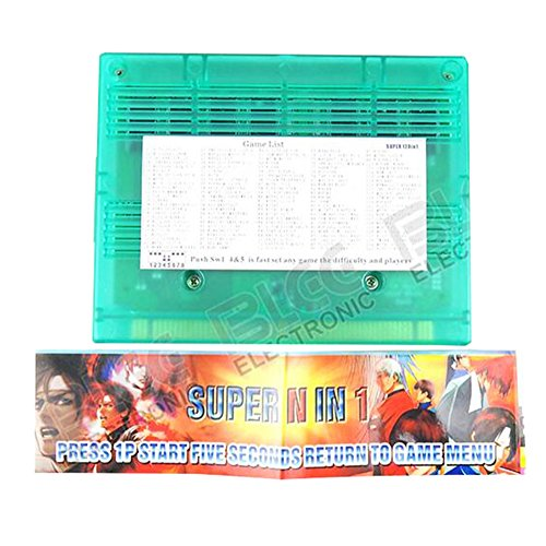 WINIT Super N In 1 Jamma 120 In 1 Games Neogeo MVS Game Board Game PCB for Arcade Machine Coin operator cabinet