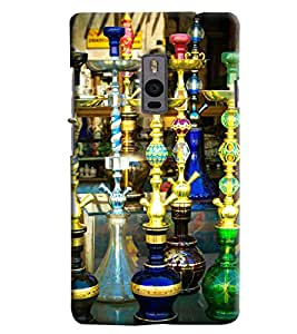 Blue Throat Hookas Inpsired Hard Plastic Printed Back Cover/Case For OnePlus 2