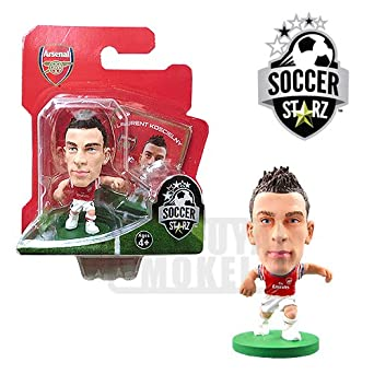 Amazon.com: Soccerstarz Arsenal FC - Laurent Koscielny: Toys & Games