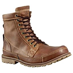 Timberland Earthkeepers Originals 6 Inch Boot - Men\'s Red Brown Full-Grain 11.5