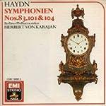 Symphonies 83, 101 & ,104