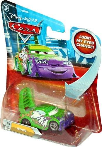 WINGO #53 w/ Lenticular Eyes Disney / Pixar CARS 1:55 Scale Die-Cast Vehicle