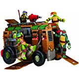 Teenage Mutant Ninja Turtles - Autocaravana Shell Raiser de las Tortugas Ninja (Figuras no incluidas)