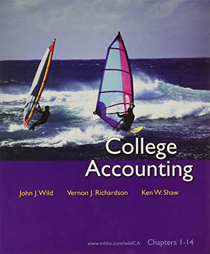 College Accounting: Chapters 1-14