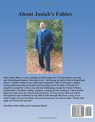 Josiah's Fables: Rites of Passage: Volume 3 (Teen Talk)