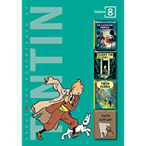 Adventures of Tintin - Vol. 8: The Castafiore Emerald, Flight 714 to Sydney & Tintin and the Picaros