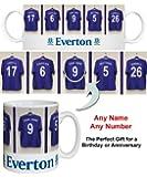 Everton FC Personalised Mug - Football Gifts
