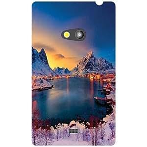 Nokia Lumia 625 Back Cover - Wao Designer Cases