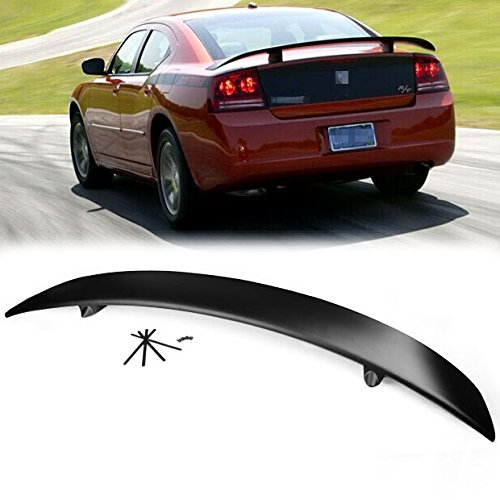 For 2006-2010 Dodge Charger SXT SRT8 Sedan Brand New Rear Trunk Spoiler Wing ABS Unpainted (Dodge Charger Car compare prices)