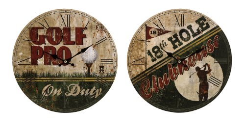Set of 2 Golf Clocks