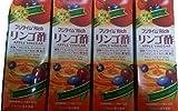 4本セット!富士薬品 フジタイムリッチ りんご酢1800ml✖4本