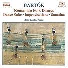 Bartok : Oeuvres pour piano, Vol. 2 - Suite de danse - Danses populaires roumaines - Sonatine