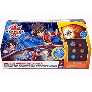 Bakugan Battle Arena Mega Set 6 Random Bakugans