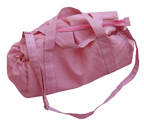 Green Breeze Imports Pink Diaper Bag - 1