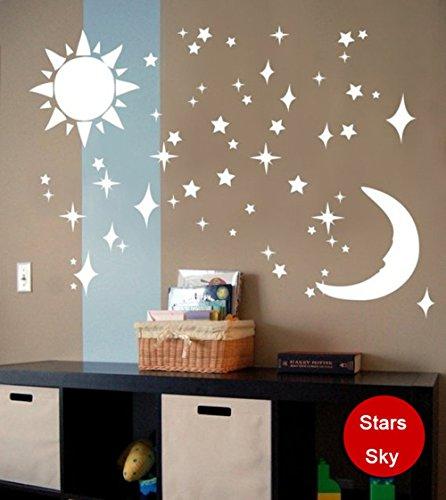 ufengker-3d-sol-luna-estrellas-efecto-de-espejo-pegatinas-de-pared-diseno-de-moda-etiquetas-del-arte