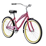 Diamondback Bicycles Womens 2015 Della Cruz Complete Cruiser Bike, 16-Inch/One Size, Pink