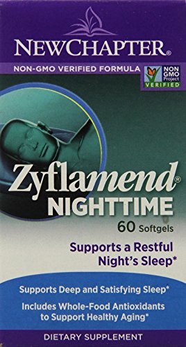 New Chapter Zyflamend Nighttime 抗炎舒眠有机草本英华 60粒 $17.84