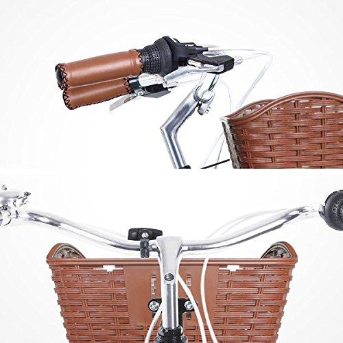 Gama Bikes Women's City Avenue Step-Thru 6 Speed Shimano Hybrid Urban Cruiser Commuter Road Bicycle, 26-inch wheels 5