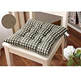 Tenworld Indoor Home Kitchen Office Seat Pads Chair Cushion 4040cm (Army Green)