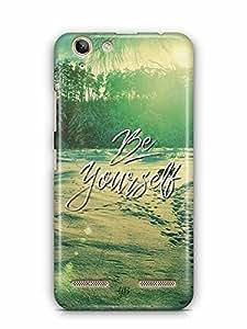 YuBingo Be Yourself Designer Mobile Case Back Cover for Lenovo Vibe K5 Plus