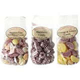 Hermann the German Variety Pack - Orange & Lemon, Assorted Fruit, and Blackberry (5.29 oz each)