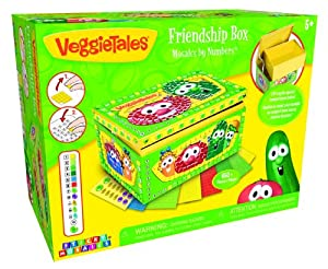 The Orb Factory VeggieTales Sticky Mosaics Friendship Box