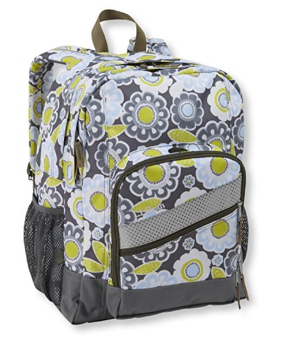 L.L.Bean Boys' L.L.Bean Deluxe Plus Backpack, Print Multi Color One Size