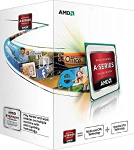 AMD Dual-Core A4-Series APU for Desktops A4-4000 with Radeon HD 7480D (AD4000OKHLBOX)