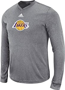 Adidas Los Angeles Lakers Pre-Game Fitted T-Shirt by adidas