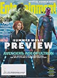 Entertainment Weekly April 17/24, 2015 Avengers: Age of Ultron (Cover#2 Hulk, Black Widow, & Vision)